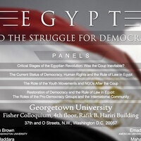 Egypt & The Struggle for Democracy