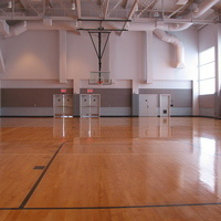 Burns Recreation Center Back Court