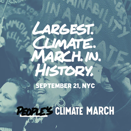 Climate Action Week: The New School Marches at the People's Climate March