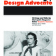 """Susan Szenasy's book, """"Szenasy, Design Advocate"""", now available for purchase at the risd:store"""