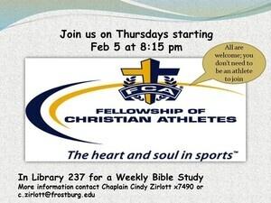 FCA Weekly Meeting