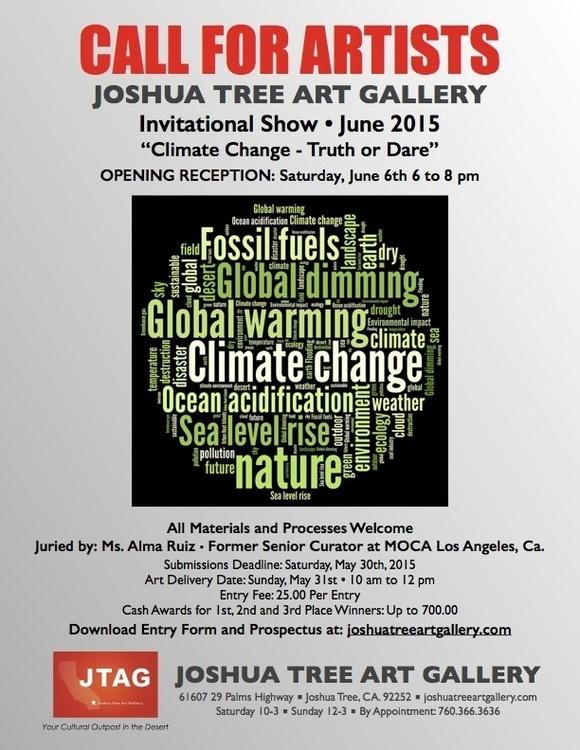 Joshua Tree Art Gallery/ Call for artist - Coachella Valley