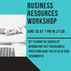 Business Resources Workshop