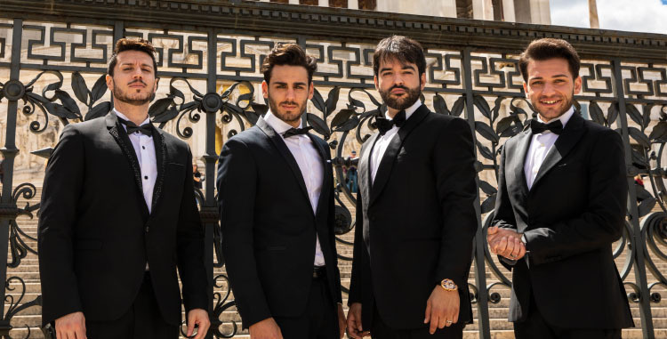 The Four Italian Tenors