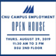 Campus Employment Open House