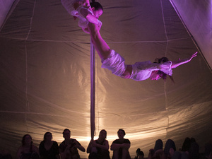 Brave Space - Daringly Intimate Circus in a Blanket Fort