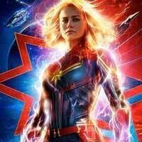Cards Under the Stars - Captain Marvel