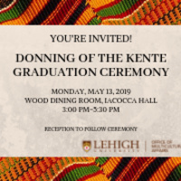 Donning of the Kente Pre-Graduation Ceremony | Multicultural Affairs