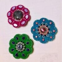 Beaded Felt Barrette Workshop