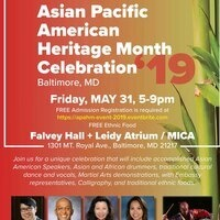 2019 Asian Pacific American Heritage Month Celebration
