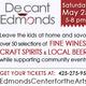Decant Edmonds: wine, spirits & beer tasting event
