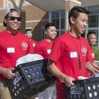 Residence Hall Move-in Day 2019