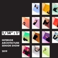 Student exhibition opening  |  Interior Architecture Senior Show