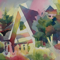 Watercolor Demonstration - Julie Crouch