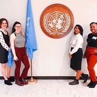 United Nations Association-Women at UofL General Assembly Meeting