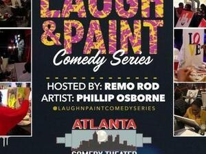 Laugh & Paint Comedy Series