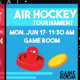 Student Union: Air Hockey Tournament