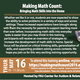 Making Math Count Bringing Math Skills into the Home