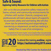 Safe & Sound Exploring Safety Measures for Children wt ASD
