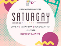 Saturgay Brunch - Pride Weekend Kickoff