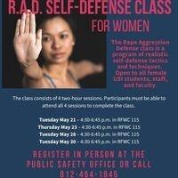 R.A.D Self-Defense for Women