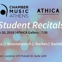 Chamber Music Athens Festival Student Recitals