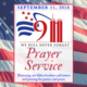 9/11 Prayer Service: We Will Never Forget