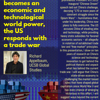 """Global Studies Colloquium Series: """"As China Becomes an Economic and Technological World Power, the US Responds With a Trade War"""""""