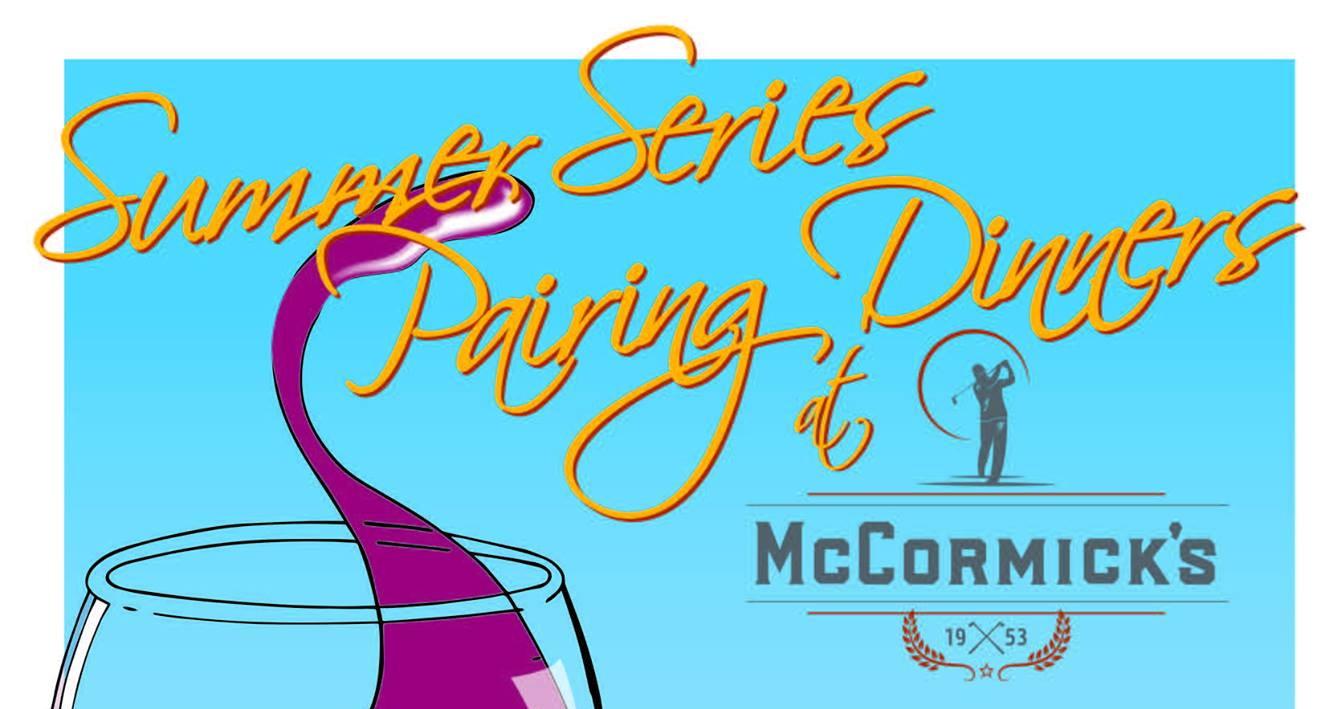 Summer Series Pairing Dinners