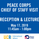 Peace Corps Reception & Lecture