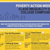 Class Inequality on College Campuses - Poverty Action Week