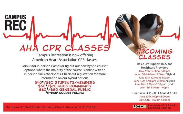 AHA - Instructor Led Classes // Basic Life Support (BLS) + Heartsaver CPR/AED
