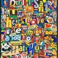Cereal Box Pop Art - Dunbar Branch Library