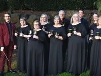 Bells of the Cascades in concert with The Melodica Men