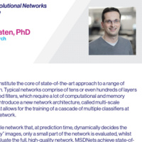 Machine Learning and Data Science Seminar: Developing Efficient Convolutional Networks and Training them at Scale