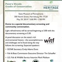 Special Screening and Community Conversation: Cradle of Conservation, a WITF Conservation Heritage Documentary