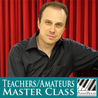 PianoTexas Teachers/Amateurs Master Class: Igor Resnianski