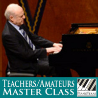 PianoTexas Teachers/Amateurs Master Class: Arie Vardi