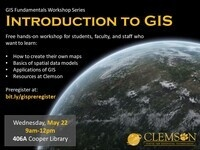 Introduction to GIS Workshop