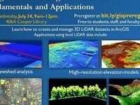 Using and Visualizing LiDAR in GIS: Fundamentals and Applications Workshop
