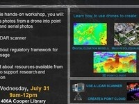 Intro to Drones and LiDAR for Mapping Workshop