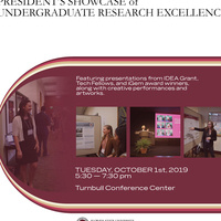 2019 President's Showcase of Undergraduate Research Excellence