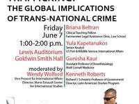 Trafficking: The Global Implications of Trans-National Crime