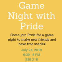 Game Night with Pride