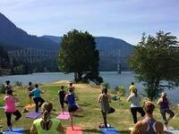 Yoga + Beer at Thunder Island Brewing