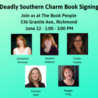 Deadly Southern Charm Book Signing