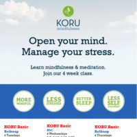 KORU June Offerings