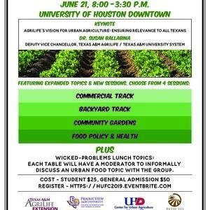 Houston Urban Food Conference