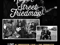 Roger Street Friedman ft. Professor Louie & The Crowmatix