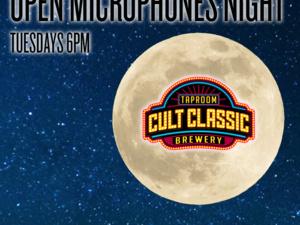 Open Microphones @ Cult Classic
